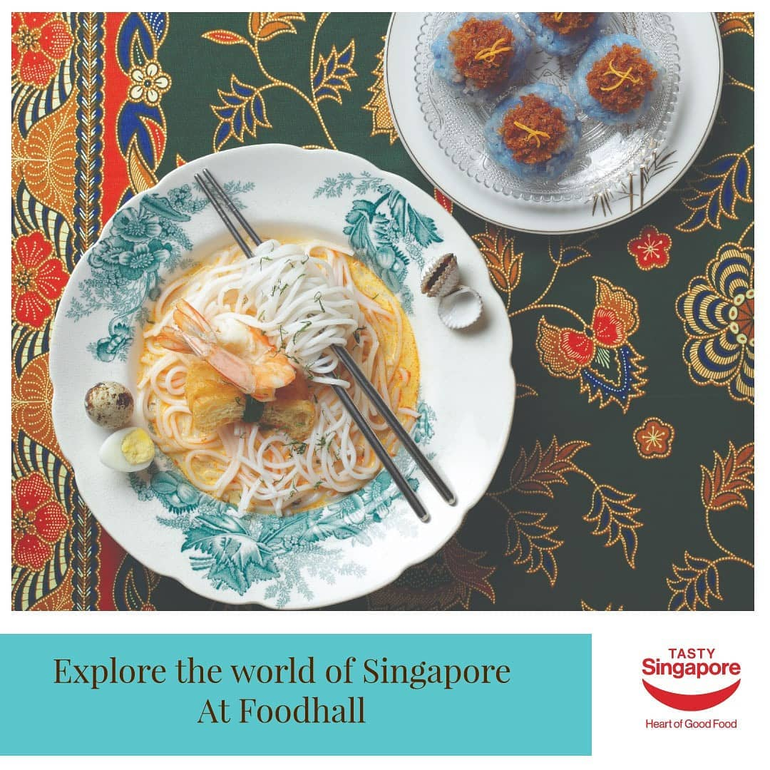 Dreaming of sunny afternoons in Singapore?  Experience authentic flavours from Singapore with the finest range of ingredients and produce from the Land of the Lion at a Foodhall store near you.  From refreshing beverages to flavor-packed condiments, call us now on 809 503 1111 to indulge in Singapore at home.  #Foodhallindia #FortheLoveofFood #TastySingapore #Singaporeansummer #Singaporefoodlover #Singaporefoods @tastysingapore.id