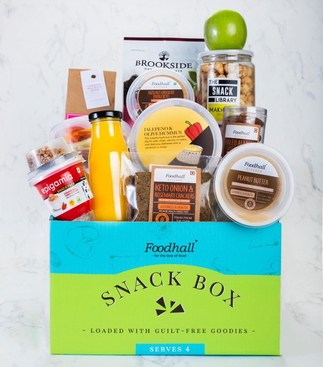 Your perfect World Cup snacking companion is just a call away. Visit a Foodhall near you or call us on 8095031111 to get your Foodhall Snack Box. Loaded with a rich assortment of gourmet delights, this box is all you need to have a good time over good food.  P.S Connoisseurs Club members can avail a special price for our two variants. Reach out to your nearest store for more information.  P.P.S Mumbai, if the rains have you down and out, order off of the @scootsyit app and let the game spirit carry on!