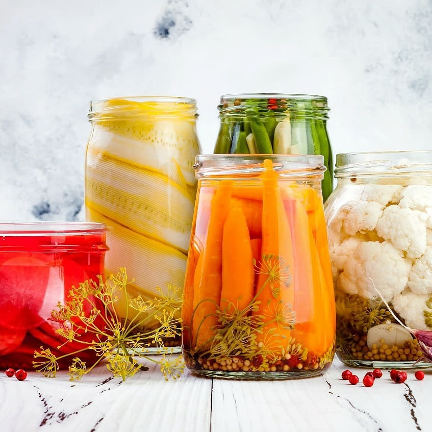 #FoodhallLoves: Fermented foods!  Boost your gut health this festive season with #fermentedfoods which aid digestion, boost immunity and add an action-packed assembly of flavours to your daily diet!  From oriental pickles (which you can add to salads and sandwiches), to fizzy kombucha tea and umami-rich miso (to elevate your next marinade) – discover our full range of dairy-free pro-biotics at a Foodhall near you.  #21DayWellnessChallenge #FoodhallIndia #ForTheLoveofFermentation #GutHealth #Kombucha #Miso #PickledVeggies #Fermented #HealthyLiving #HealthyEating