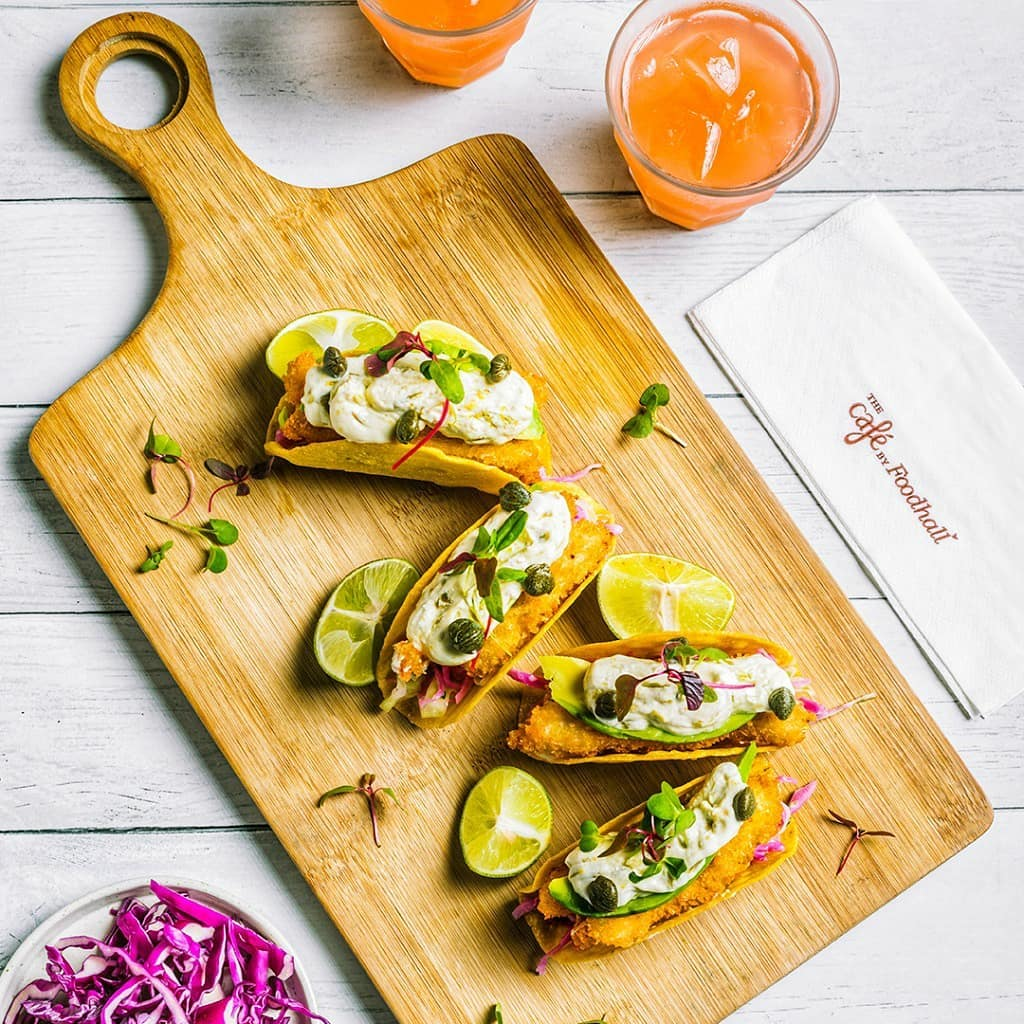 Revealing this month's taco-over at The Café by Foodhall.  Pop in to feast on a flavour-packed fiesta featuring a vibrant variety of tacos. We promise all the classics (Spicy Black Bean tacos anyone?), alongside creative specials from Sweet Potato & Portobello tacos to Chipotle Fish tacos and more. Taco about delicious!  #FoodhallIndia #ForTheLoveofTacos #TacoTakeover #Tacos #FestiveMenu #TheCafebyFoodhall