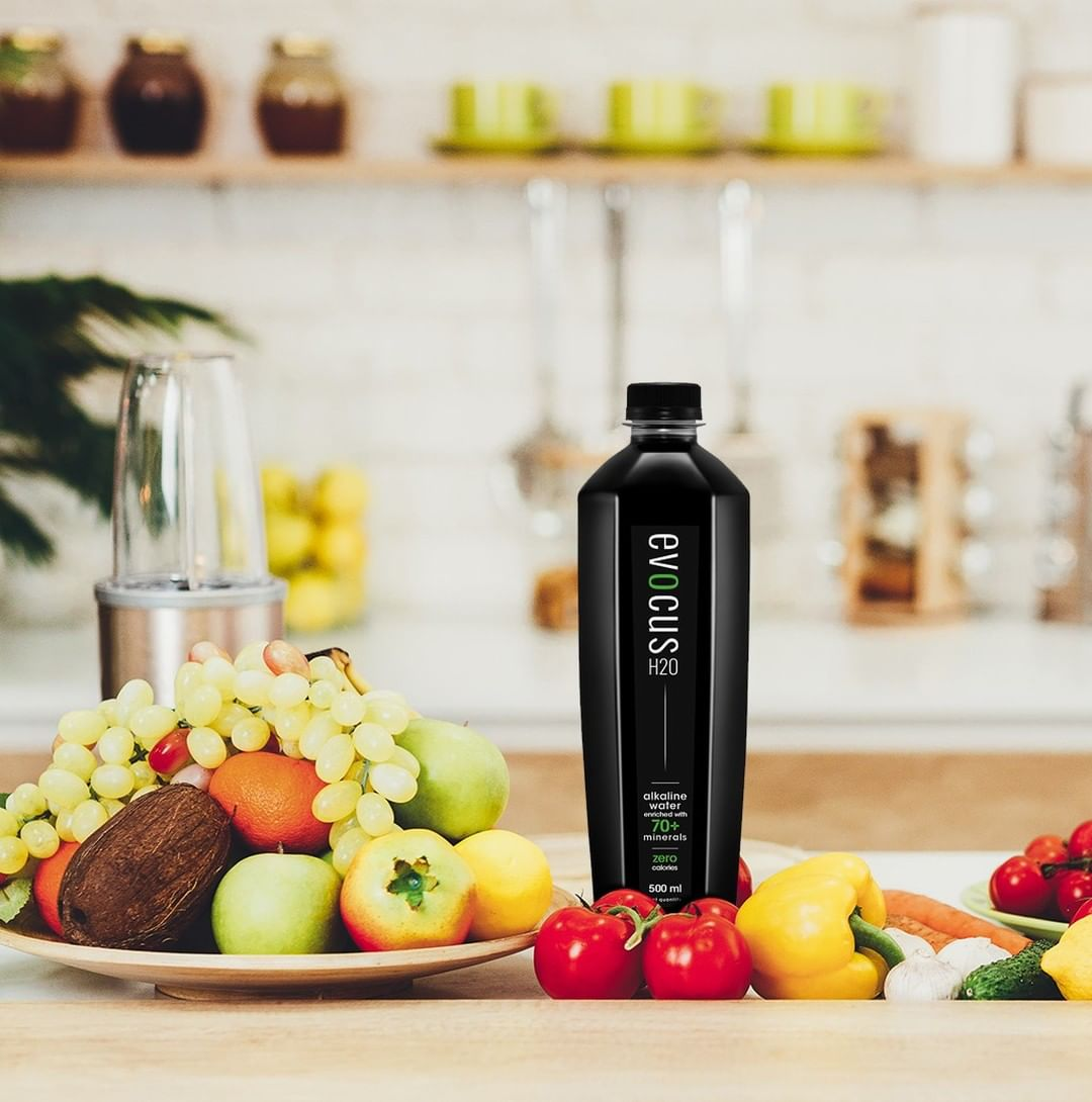 #FoodhallRecommends: Evocus Alkaline Water  Pro-actively hydrate with @evocus_water, enriched with over 70 natural minerals! Offering protection against acidity arising from rich foods, inadequate diets, or inappropriate liquid intake – this black-hued wonder water doesn't just minimize the need for pharmaceutical cures, but also helps with #detoxification, improved #metabolism and sustained #hydration!  While you're at it, why not supplement your diet with alkaline-heavy #superfoods such as #blueberries, #avocado, #nuts, legumes, and fresh vegetables from our Winter Garden to reap the benefits of optimum pH levels and remain actively fit during these winter months!  #ForTheLoveofHealthyLiving #FoodhallIndia #Evocus #AlkalineWater #HydrogenRich #WinterGarden #AlkalineDiet