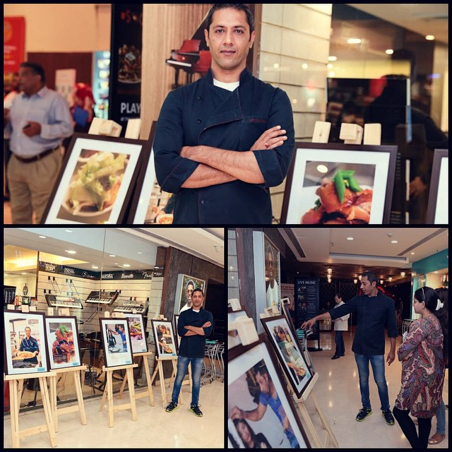 #PartyInStyle Catch a sneak peek into the gastronomical voyage of Masterchef @adityabal through his exclusive photo exhibit at Foodhall @ DLF Place, Saket! #FoodhallIndia #MasterChef #PhotoExhibit #instalike #instagood #bestoftheday #CulinaryJourney #Food #follow #tagsforlikes