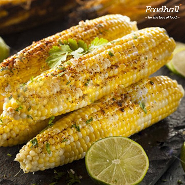 #FoodhallFavourites Infused with the flavors of Mexico, there is nothing like fresh corn on the cob! #FoodhallIndia #FoodhallFest #OlaCantina #JourneyThroughMexico #CornOnTheCob #Instalike #Instagood #delicious #food #bestoftheday #follow #tagsforlikes #MexicanFiesta #FlavorsOfMexico