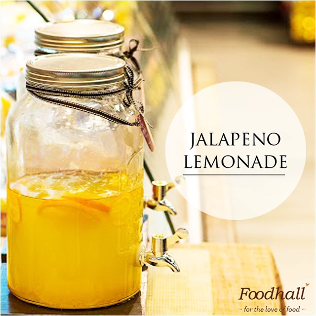 The mercury's heating up outside, come visit our stores to try some refreshing lemonade with a twist!  #FoodhallIndia #BeatTheHeat #Summer #Lemonade