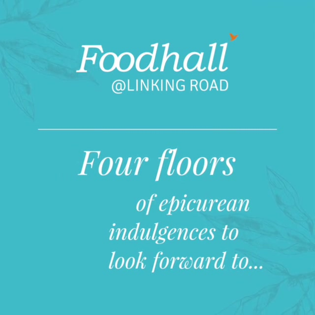 Indulgence has a new address. Find your favourites from December 1st only at Foodhall, Linking Road. . . . #BandraGoesBlue#ForTheLoveOfFood