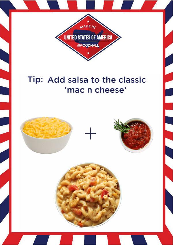 Spice up your favorite Mac n Cheese with a twist of salsa. http://t.co/4RvMYRL7Bm