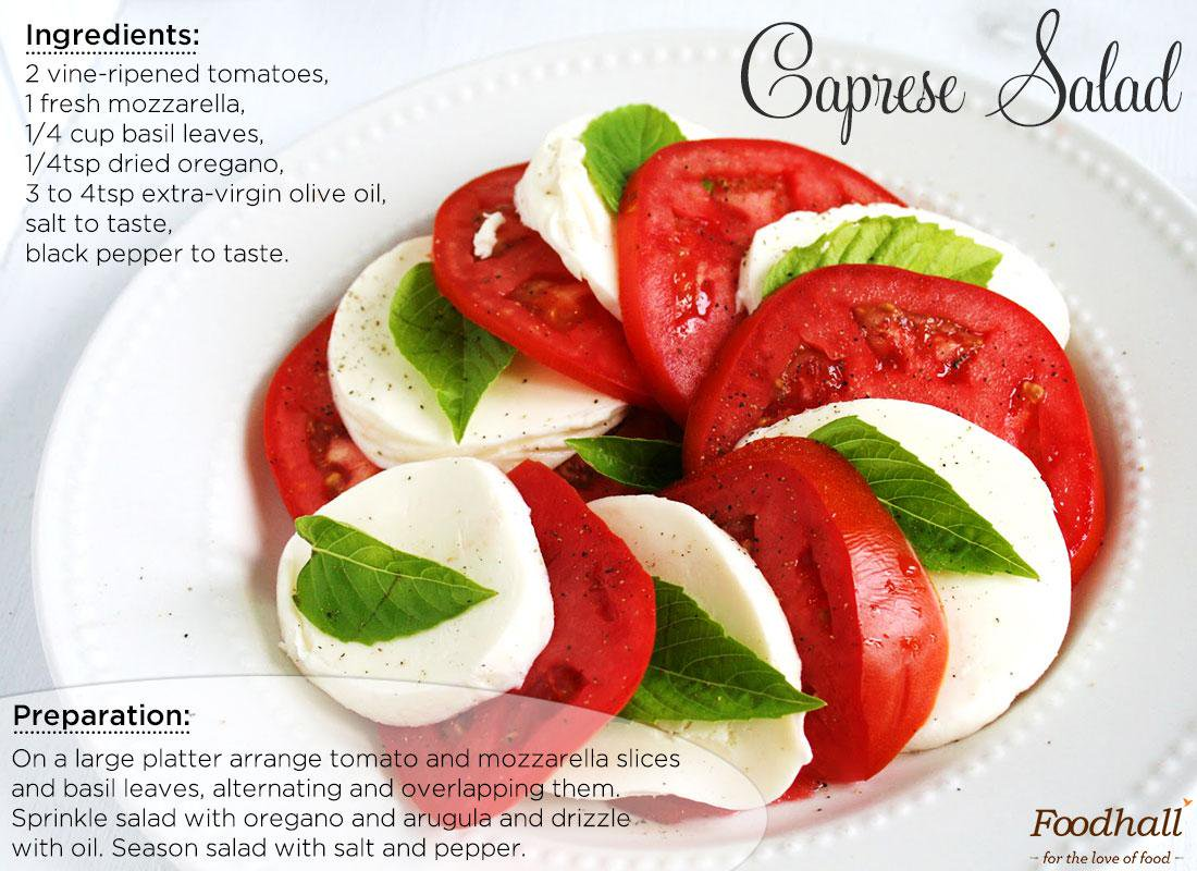 #RecipeOfTheDay Fresh ingredients coupled with heavenly seasoning–Irresistible Caprese salad #salad #Italia #MammaMia http://t.co/ruEot2H4hr
