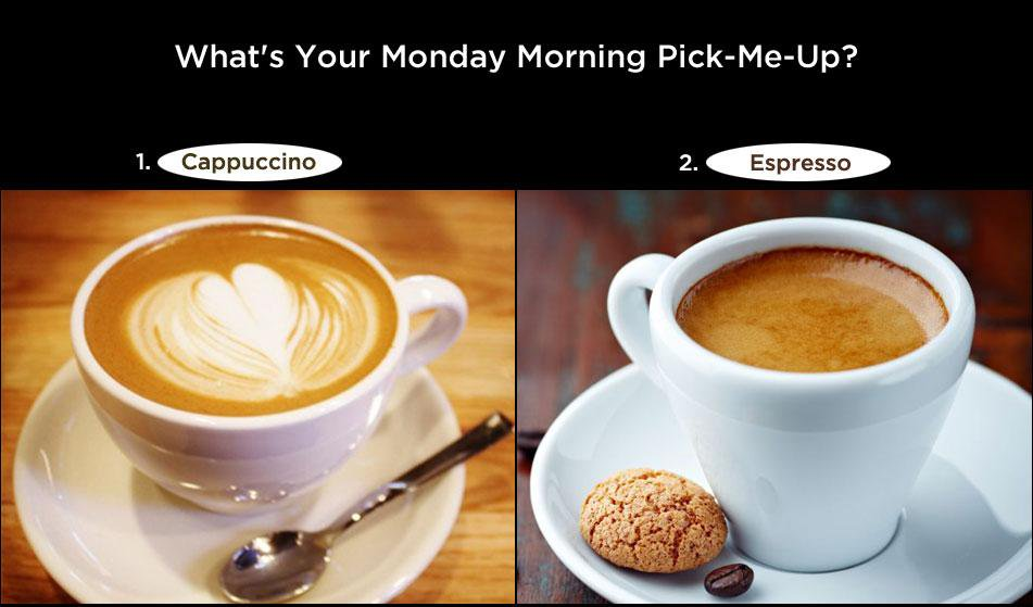 Ciao! Tame those #mondayblues with your favourite choice of #coffee at Foodhall Tell us which one you prefer #Italian http://t.co/jAnwK3t1xC