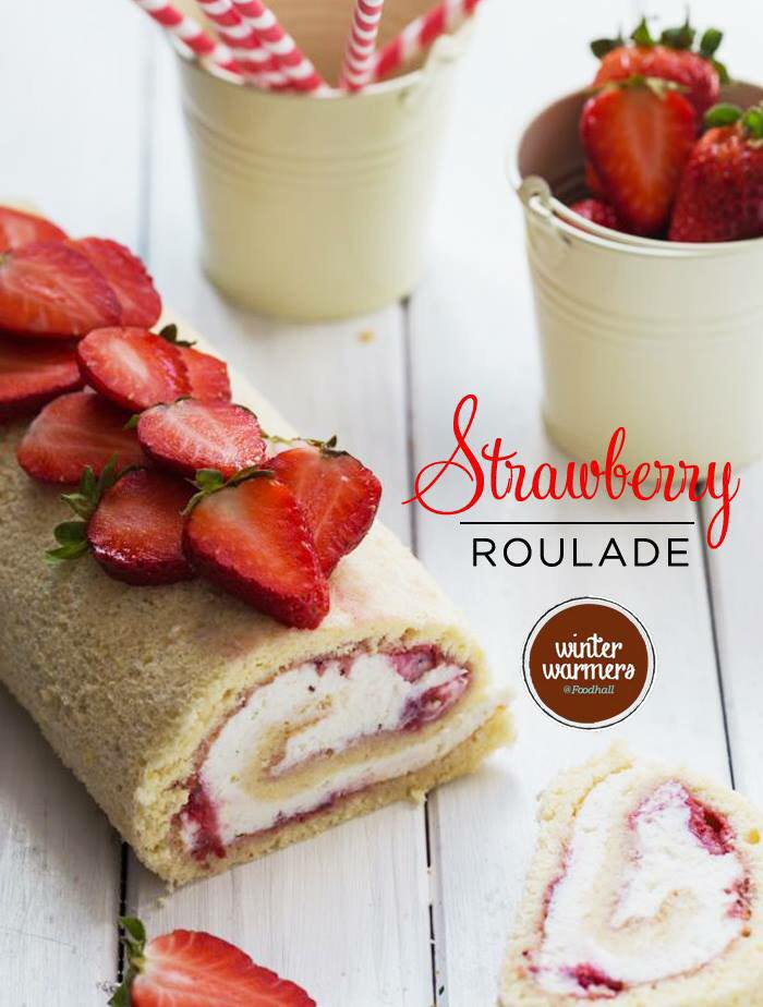 What's in a Winter, without Strawberries? Sigh! #strawberrylane #winter #strawberryroulade #dessert #sweetindulgence http://t.co/TqgPRMvCbI