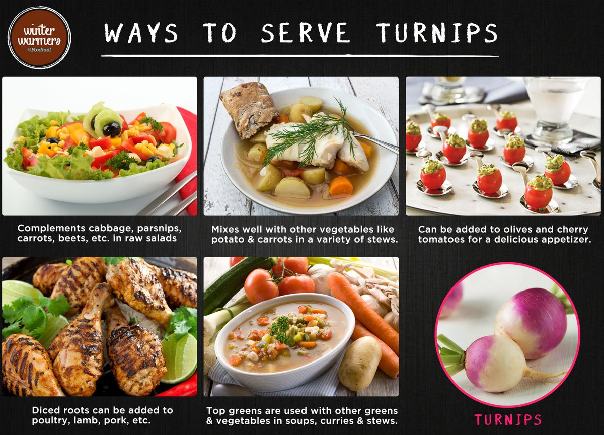 This Winter, Go Glam and serve turnips in myriad ways! Let us know if you know more #winterfest #turnips #mealprep http://t.co/LPJkHHTfhe