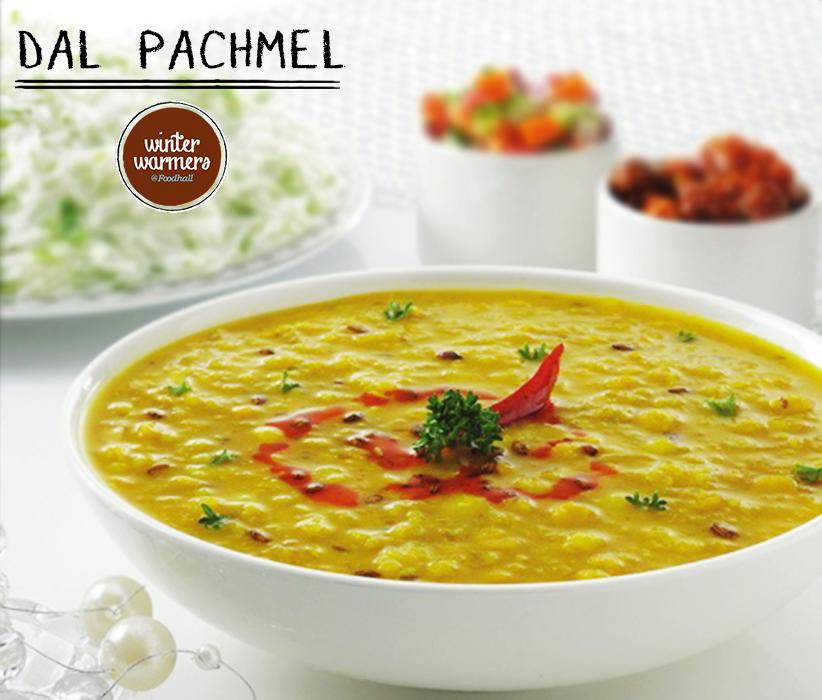 Dal Pachmel- Taste the unique blend of #Indian spices in an #exotic combination of 5 different lentils at Foodhall! http://t.co/DpbCTBVn8o