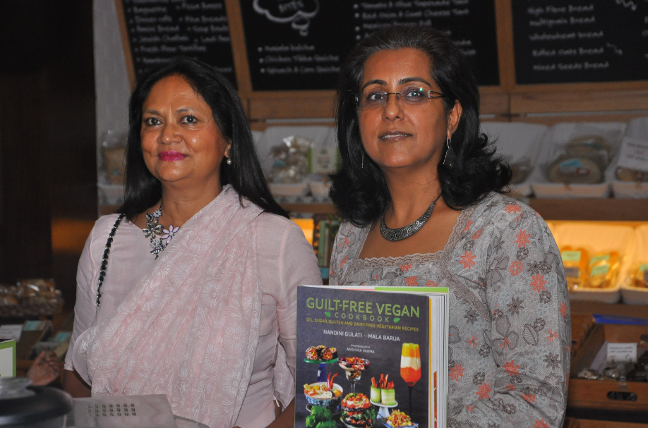 Here's a look at a wonderful evening of vegan food tasting with @belightcoach & Mala Barua @dlfplace_saket! http://t.co/7lEdMXbghc