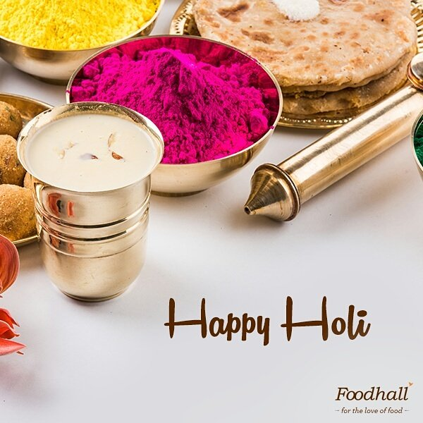 Let the colours work their magic in your homes today. Happy Holi! https://t.co/BvzHvZ3AqI