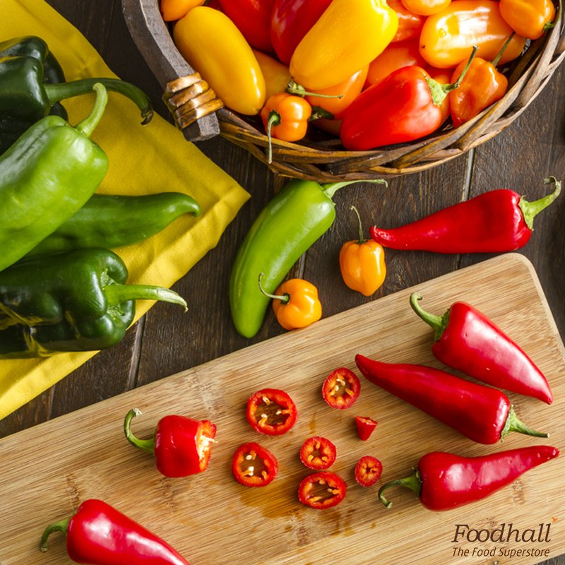 #DidYouKnow Mexico has over 60 varieties of chilies? Visit us this month & spice up your meals the Mexican way! https://t.co/w4BlaJ1Hvl