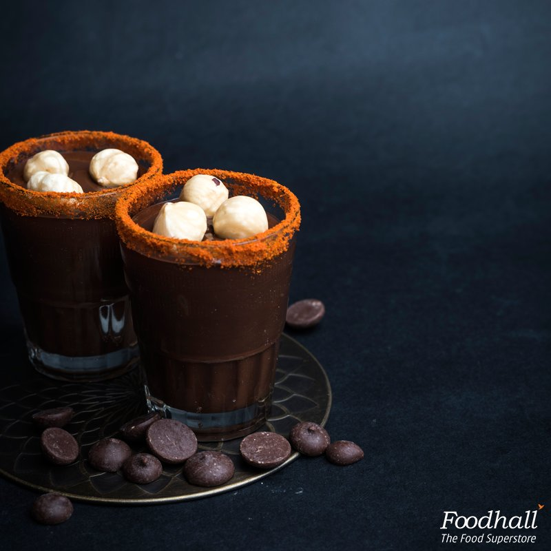 When you want the best of both worlds, visit Foodhall and taste the Chilli chocolate shots. https://t.co/8MjB5IFSvr