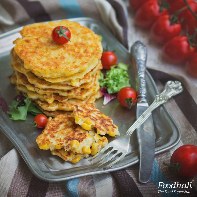 The day begins well when it's the Mexican way with spicy tomato salsa and sweet corn pancakes! #BreakfastIdeas https://t.co/aOVRmNrrkK