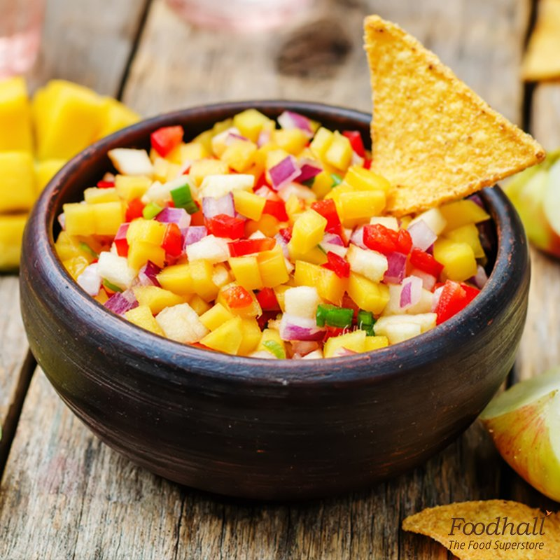 Planning a game night with friends? Pair our mango salsa with nachos and munch-on. https://t.co/WrU3TcNVlx