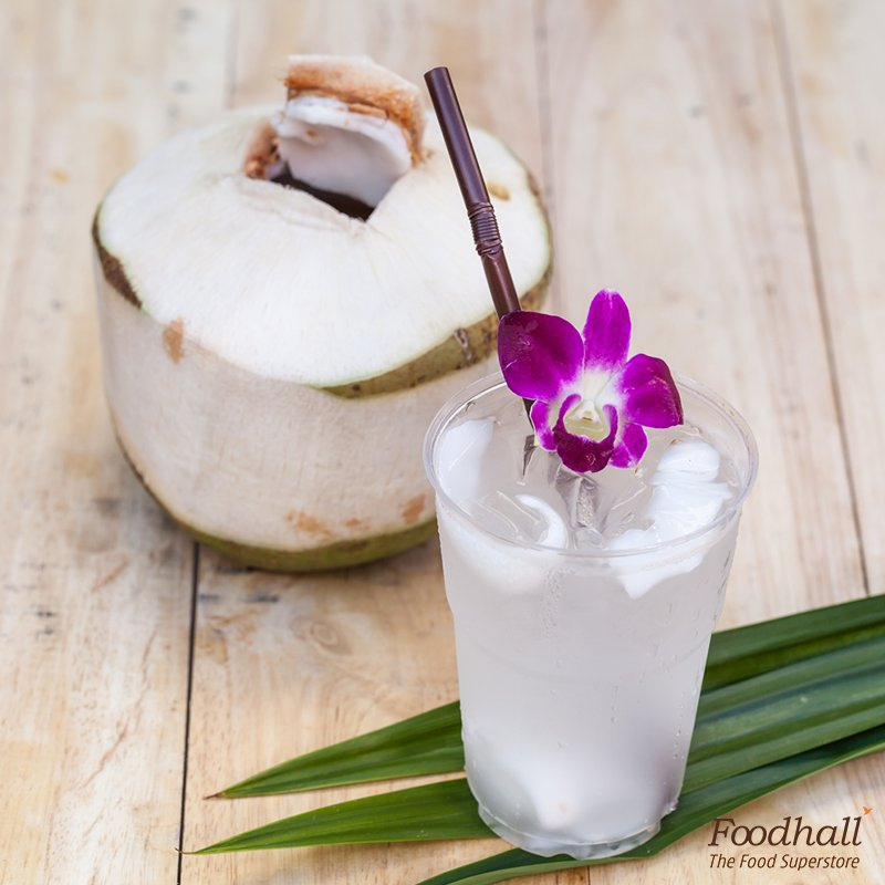 Cool down the Thai way with the most tender & sweet Thai coconuts. Pick one from our demo counter & refresh yourself https://t.co/8zIMT8atyg