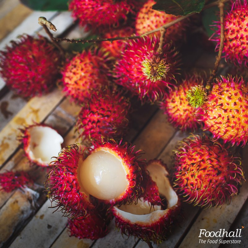 We've got you something sweet & sour this season - Rambutan, one of our favourite exotic fruits from Southeast Asia. https://t.co/62acUL98n6