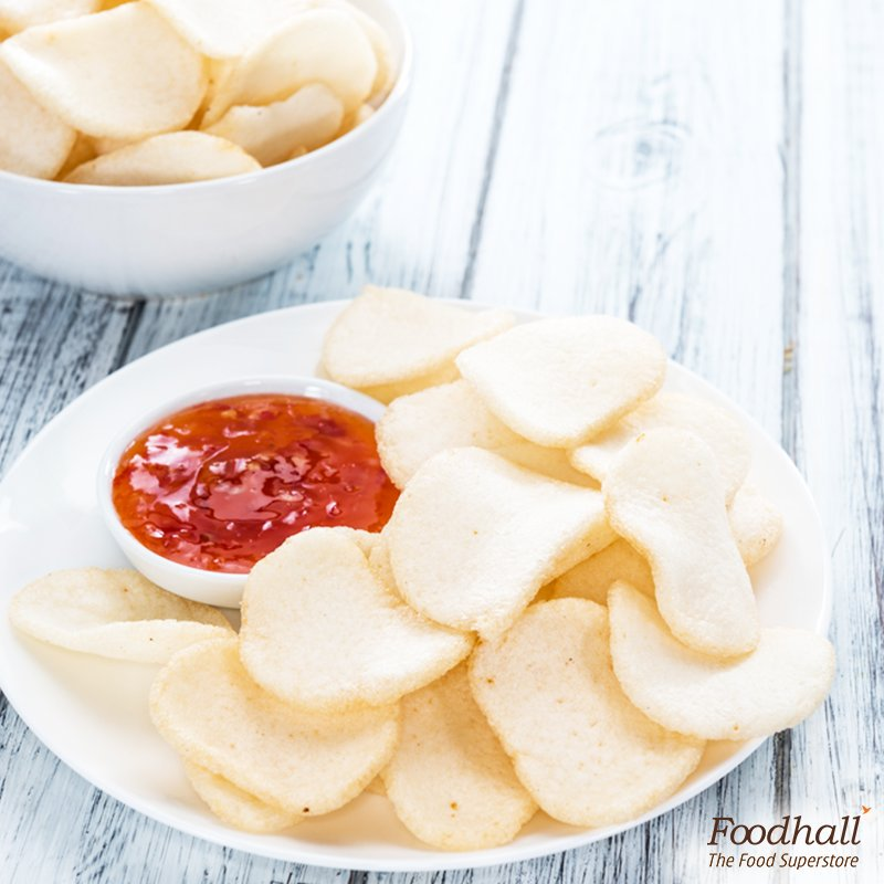 Give potato chips a break and try our deliciously crunchy prawn crackers to beat those hunger pangs at work! https://t.co/TexjbbgqaX