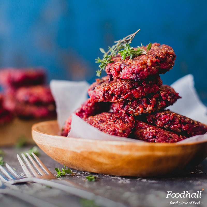 We love these Beetroot Quinoa Fritters. Try making them at home now:   https://t.co/VcUBX1qAQW https://t.co/V09UfzDoga