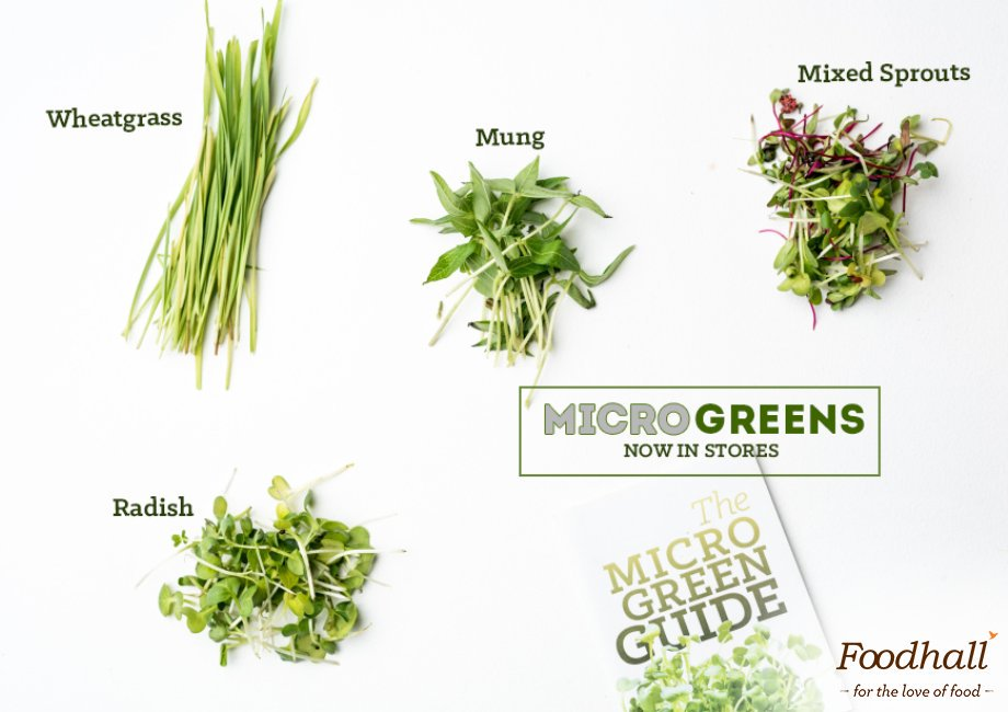 Tiny & mighty! Get yourself nutrient-dense microgreens available at our stores to add a #healthy boost to your #food https://t.co/0JQZXtN94j