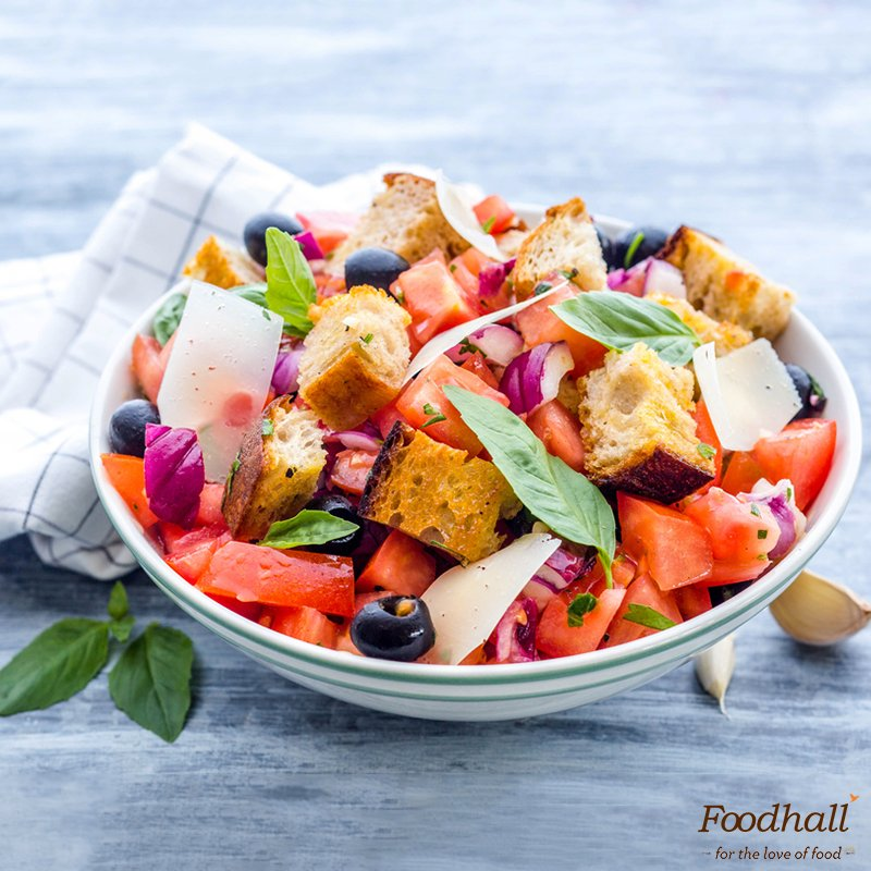 Try Tuscan Panzanella for a light #lunch or #supper– a refreshing salad made with crusty bread, tomatoes, onions, basil, olive oil & vinegar https://t.co/d5v7Qy3aDX