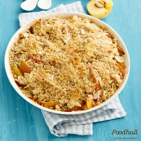 .@AmritaOfLife gives humble Rabdi a peachy twist & a delightful crunch in this Peach rabdi crumble recipe. #dessert https://t.co/EGNKnQiRAo https://t.co/W41JL80kn2