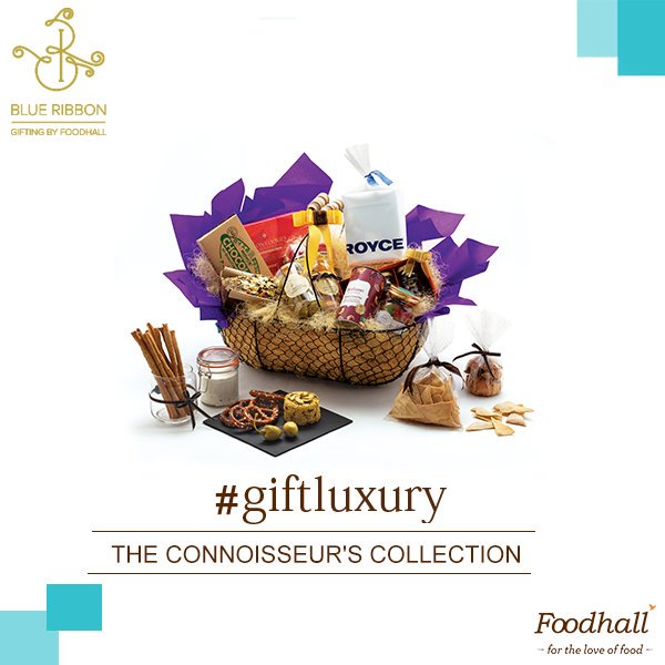 'The Connoisseur's Collection' is brimming with #snacks, #chocolates from @RoyceIndia & everything else you'll need to celebrate in style! https://t.co/nqr4lc28JM