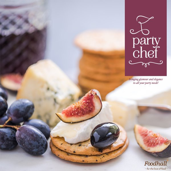Play the perfect host at your #party with a delectable spread from Party Chef by Foodhall - if it's on your mind, it's on our menu. https://t.co/UjxmLu7ueX