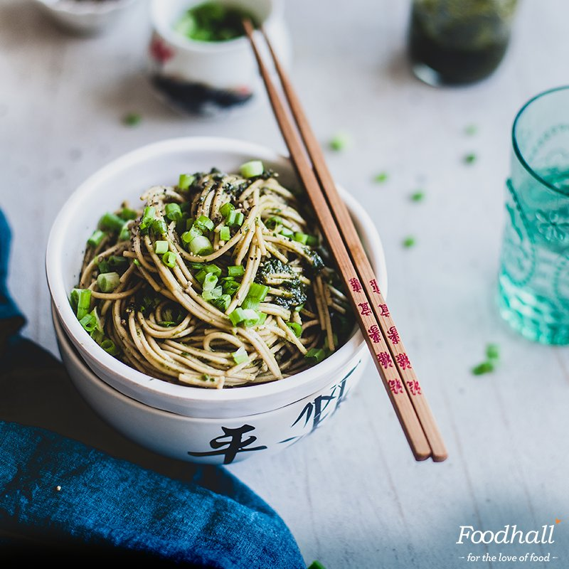 Enjoy the weather with a warm bowl of Ginger Soya Noodles. @playfulcooking's #recipe is one worth saving: https://t.co/SwJkB7fHi9 https://t.co/mTjAtg8c0V