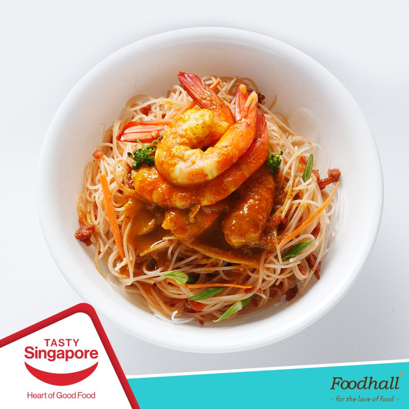 Opt for a #healthy meal using Peacock Basmati Rice Spaghetti topped with shrimps, veggies & sauces. Head to our stores to get some today. https://t.co/Tjzcl1M686