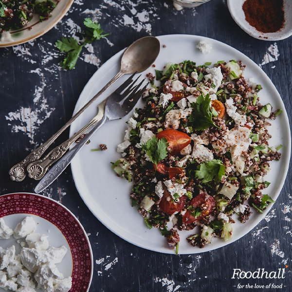 Brilliant as a side dish or simply served alone, our Red Quinoa Tabouleh is packed with flavour and texture: https://t.co/VP59Dy8GRJ #salad https://t.co/04PduxUXSn