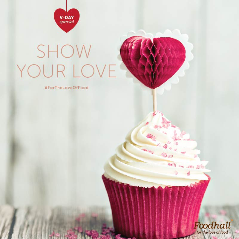 All you need is love…and some cupcakes. #ForTheLoveOfFood #ValentineSpecial #FoodhallRecommends https://t.co/6MSIWugTwY
