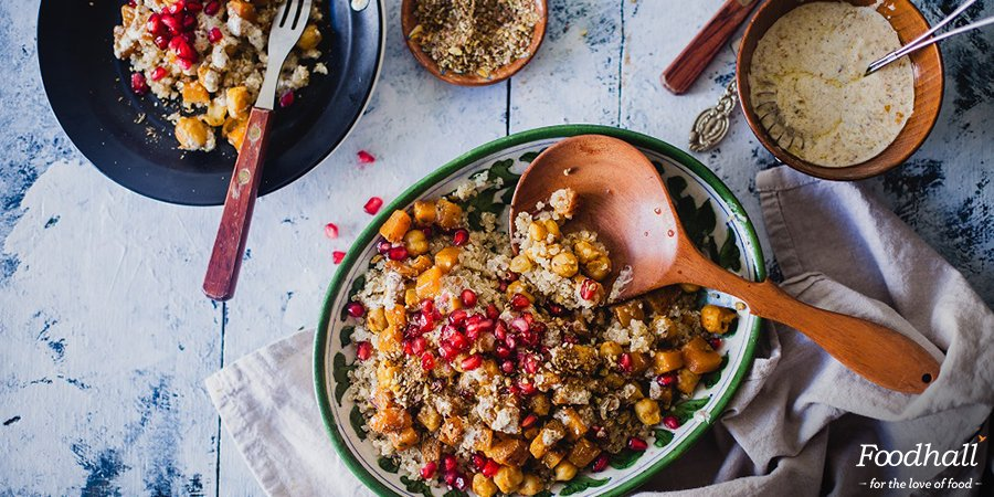 Try this gluten-free, middle-eastern delight, prepared with Dukkah spice for a flavor-packed lunch. #Recipe https://t.co/m7yQSrhoU3 https://t.co/PIjFZYooOd