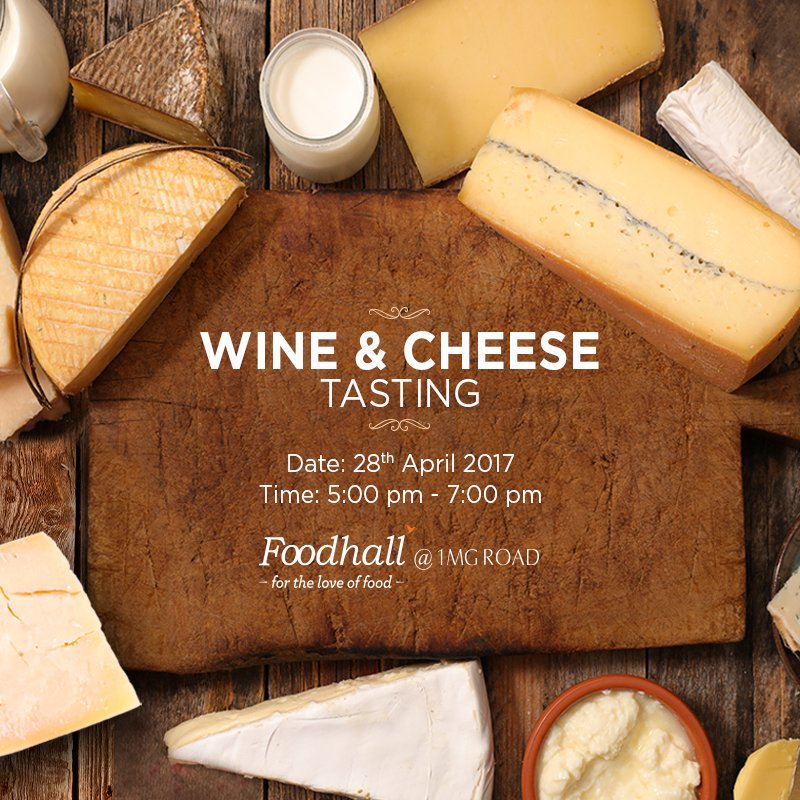 We have put together a fine selection of #cheese paired with exquisite wines! Visit Foodhall @ 1MG for a wonderful evening full of flavours! https://t.co/jIjQaigoDH