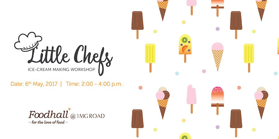 #Summer is here - let kids #BeatTheHeat with #icecream! Get your little ones to Foodhall @ 1MG, #Bengaluru & let them make their own! https://t.co/ckeEzh9hJs