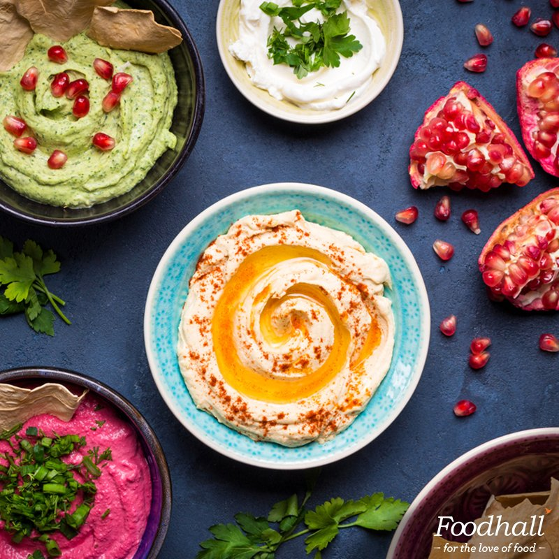 Our #hummus bar is back. Show us some love. After all, hummus is where the heart is. Know more: https://t.co/tFnVx3SohL https://t.co/EqbVaYB2PD