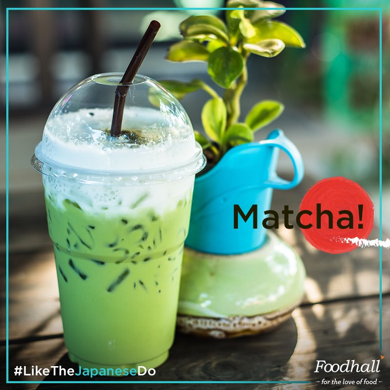 If you love Matcha #LikeTheJapaneseDo then head to the Matcha Zone in our stores & sip on a delicious #Matcha Iced Latte! https://t.co/wxtx43kidi