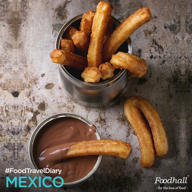 Foodhall,  ChurroDay!, Mexico!, chocolate