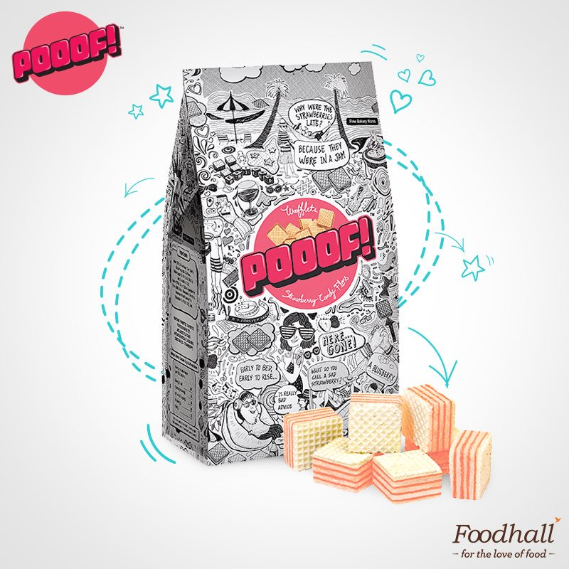 Pooof! And hunger pangs disappear! 'POOOF!' wafflets are one of the coolest snacks available at our store & are becoming a crowd-favourite! https://t.co/R4ARLjEGj2