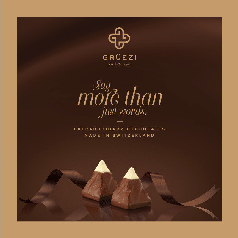 This #RakshaBandhan, we've made it easy to show you care. Express love with Gruezi #Chocolates, just arrived at our stores from #Switzerland https://t.co/Q1eLgYMAob