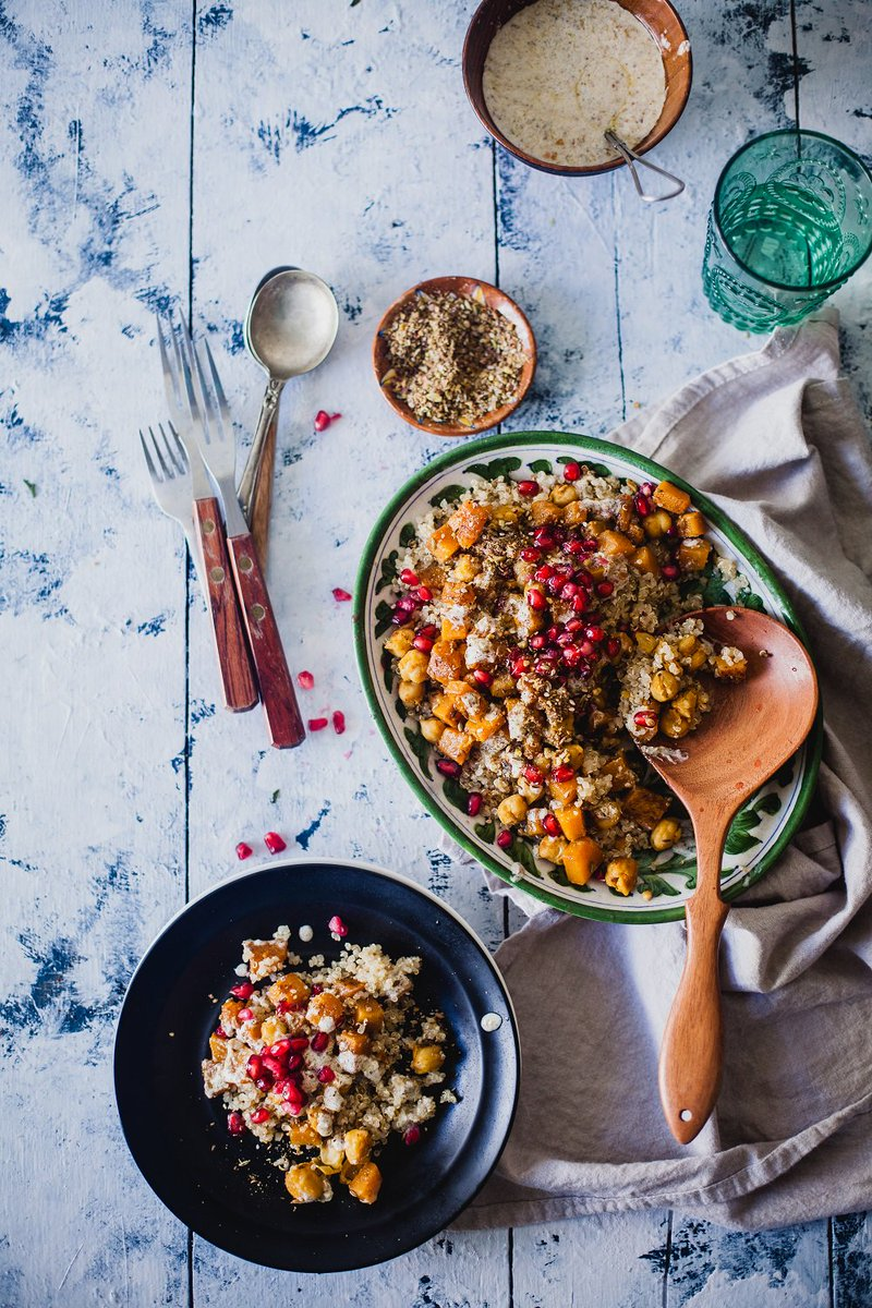 You need superfoods to help you power through your Navratri! Add to the power of the super-chickpea with dukkah spice, quinoa & more. https://t.co/3oLBVjHPaS